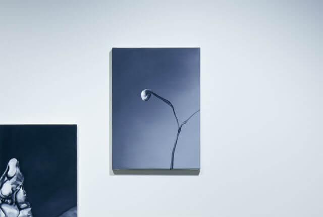 右/《孤独な植物》2017 33.5×24.3cm