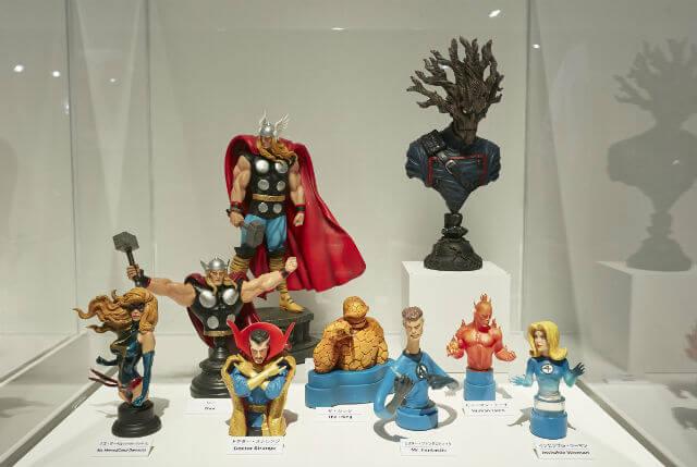 多種多彩なキャラクターたちによって、マーベルは、コミックにおいても映画においても、独創的な「ユニバース」を築き上げている。©2017 MARVEL