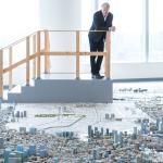 ポートランドの建築家、森ビルが作り続ける噂の巨大「都市模型」と対面する