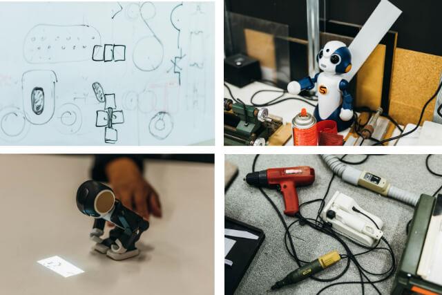 東京大学先端科学技術研究センター(東京・駒場)内にある高橋さんの研究室には学生や助手はいない。デザインから設計、加工、組み立て、プログラムまですべての作業をひとりでこなしている