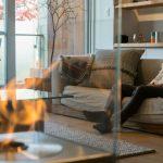 """""""炎のある生活""""の魅力とは?——煙突や配管不要のバイオエタノール暖炉「EcoSmart Fire」"""