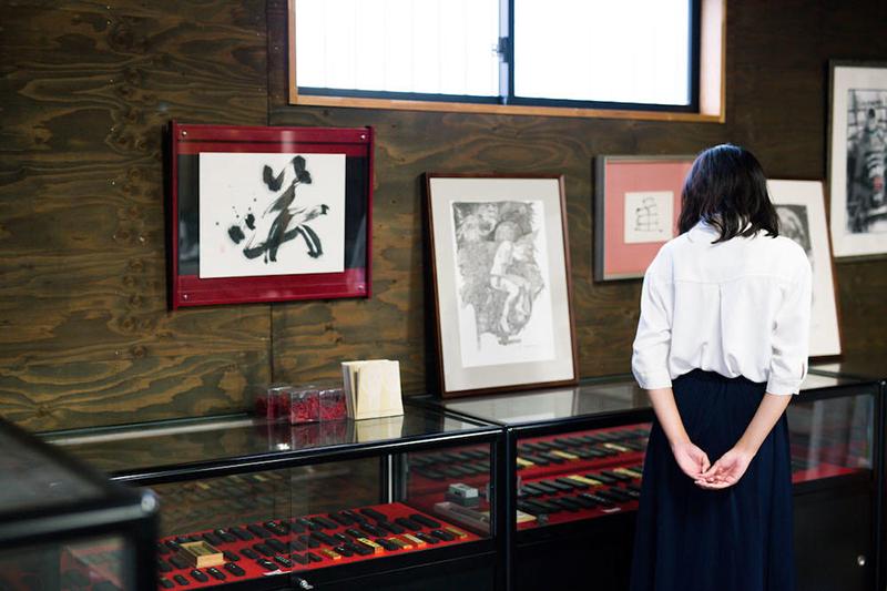 鈴鹿市の伝統工芸士の墨職人・伊藤亀堂|三重県