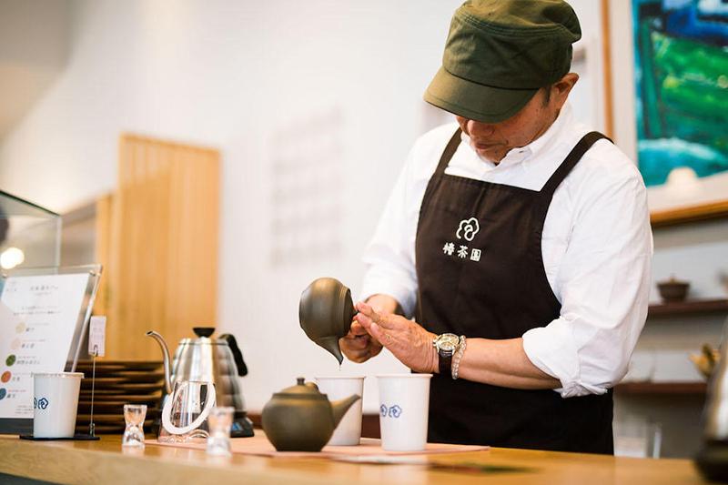 鈴鹿市の日本茶カフェ「椿茶園」三重県の特産品であるかぶせ茶 三重県