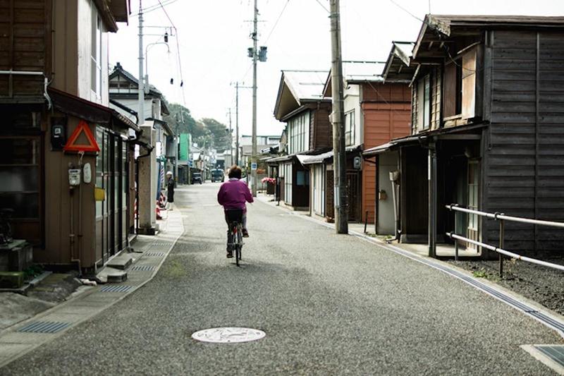 出雲崎町の「妻入り」|新潟
