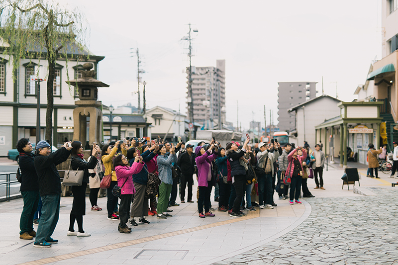 ハイカラ通り(道後商店街)