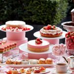 桜と苺を愛でる。春爛漫のスペシャルメニュー