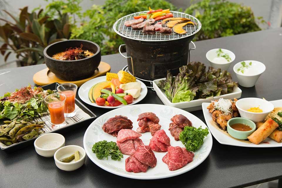 Toranomon hills BBQ