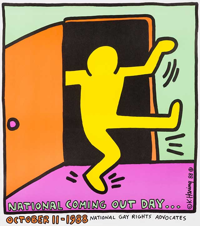 《National Coming Out Day…》1988