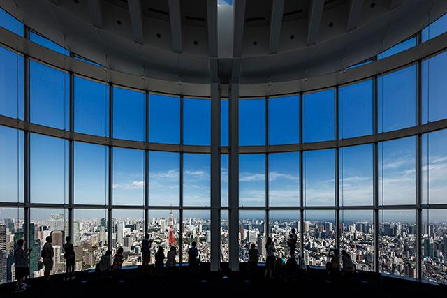 六本木ヒルズ展望台 東京シティビュー 森タワー52F/屋上スカイデッキ