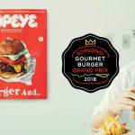 雑誌「ポパイ」バーガー特集 担当エディターが〈六本木グルメバーガーグランプリ2018〉を実食!