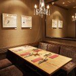 今年の忘年会は、会話の花咲くヒルズエリアの個室レストランで